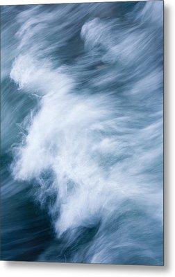 Storm Driven Metal Print by Mike  Dawson