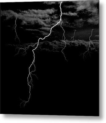 Stormy Night Metal Print by Brad Scott