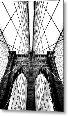 Strong Perspective Metal Print by Az Jackson