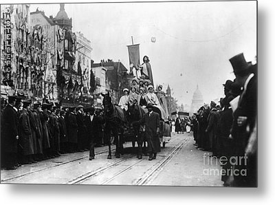 Suffrage Parade, 1913 Metal Print by Granger
