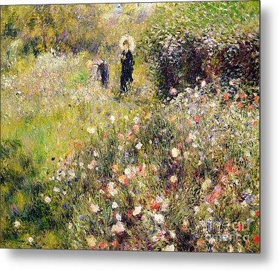 Summer Landscape Metal Print by Pierre Auguste Renoir