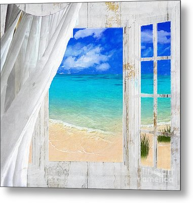 Summer Me Iv Metal Print by Mindy Sommers