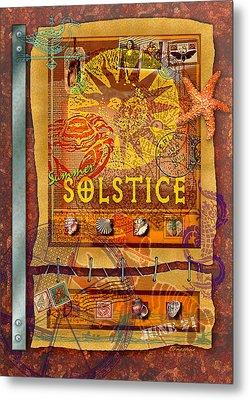 Summer Solstice Metal Print by Ernestine Grindal