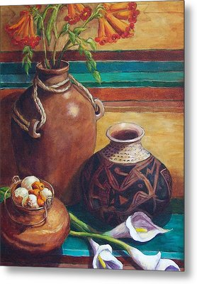 Summer Still Life Metal Print by Candy Mayer