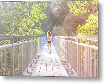 Summertime Metal Print by Jane Hu
