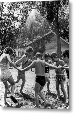 Summertime Showers Metal Print by Underwood Archives