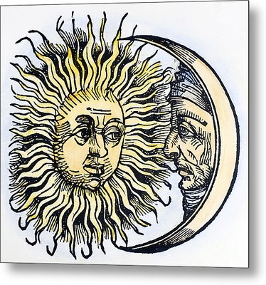 Sun And Moon, 1493 Metal Print by Granger