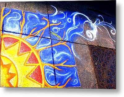 Sun And The Wind Metal Print by Chris Montecalvo