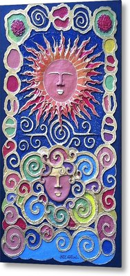 Sun And Wind 2 Metal Print by Otil Rotcod