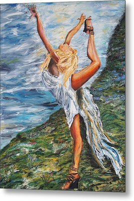 Sun Dancer Nastia Metal Print by Gregory Allen Page