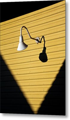 Sun Lamp Metal Print by Dave Bowman