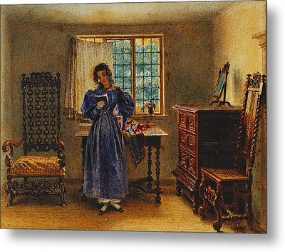Sunday Morning Metal Print by William Henry Hunt