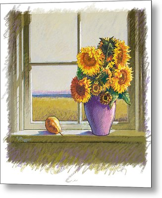 Sunflowers Metal Print by Valer Ian