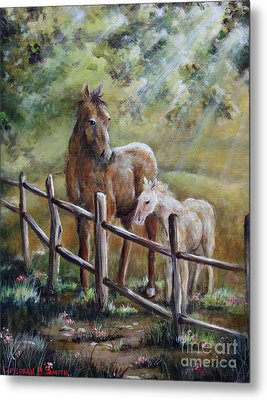 Sunny Day Metal Print by Deborah Smith