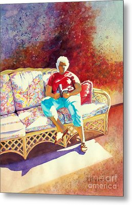 Sunny Retreat 3 Metal Print by Kathy Braud