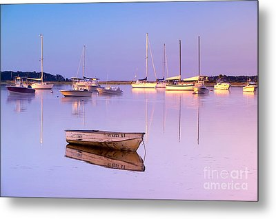 Sunrise At West Bay Osterville Cape Cod Metal Print by Matt Suess