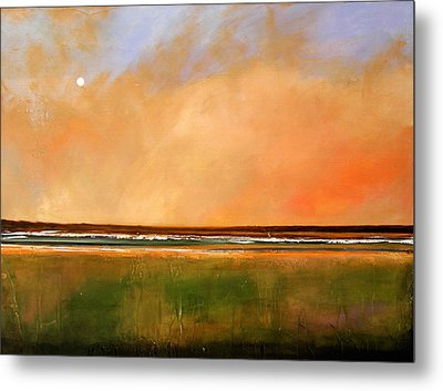 Sunrise Beach Metal Print by Toni Grote