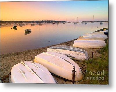 Sunrise In Osterville Cape Cod Massachusetts Metal Print by Matt Suess