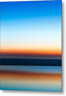 Sunset At Ottawa Lake Metal Print by Scott Norris