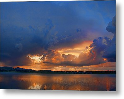 Sunset Blues Metal Print by James BO  Insogna