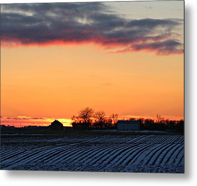 Sunset By Twin Lakes Metal Print by Kathy Krause