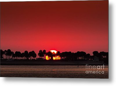 Sunset Metal Print by Marvin Spates