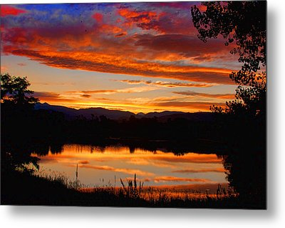 Sunset Reflections Metal Print by James BO  Insogna