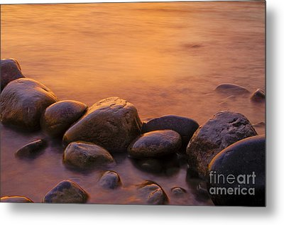 Sunset Metal Print by Silke Magino