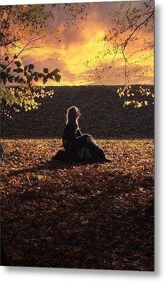 Sunset Metal Print by Cambion Art