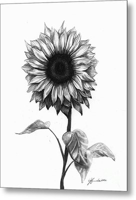 Sunshine Love Metal Print by J Ferwerda
