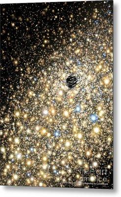 Supermassive Black Hole Metal Print by Lynette Cook