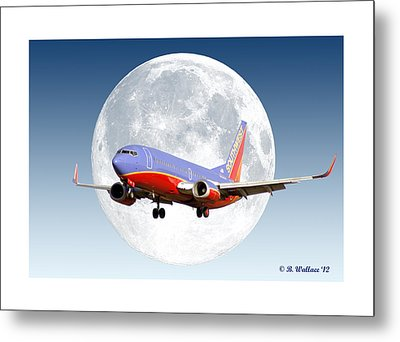 Sw Moon Metal Print by Brian Wallace