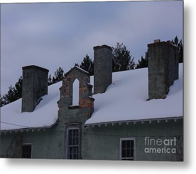 Sweeps Gate Metal Print by The Stone Age