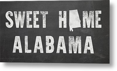 Sweet Home Alabama Metal Print by Nancy Ingersoll