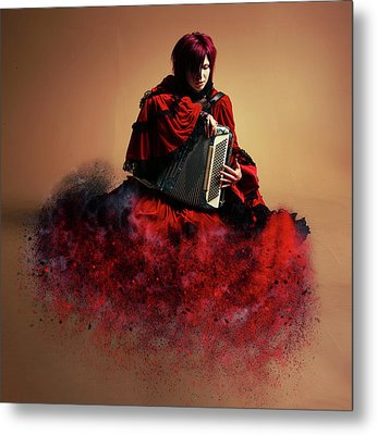 Sweet Music Metal Print by Stephen Smith