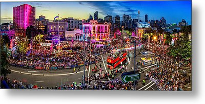 Sydney Gay And Lesbian Mardi Gras Parade Metal Print by Az Jackson