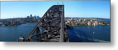 Sydney Harbour Bridge Metal Print by Melanie Viola