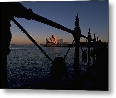 Metal Print featuring the photograph Sydney Opera House by Travel Pics