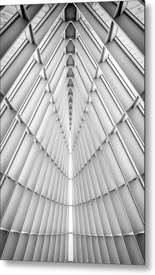 Symmetry Metal Print by Scott Norris