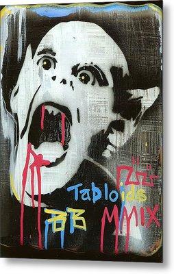 Tabloids Metal Print by Robert Wolverton Jr