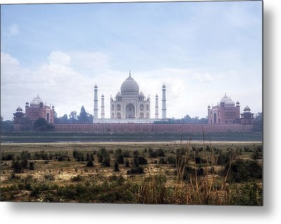 Taj Mahal - India Metal Print by Joana Kruse