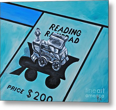 Take A Ride On The Reading  Metal Print by Herschel Fall