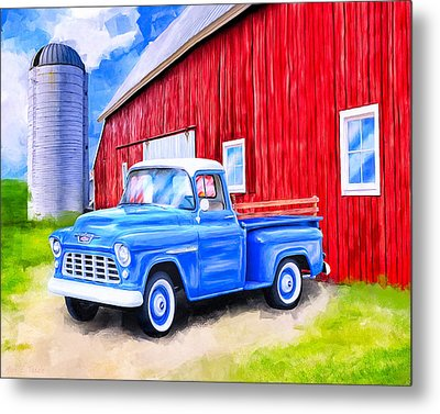 Tales From The Farm Metal Print by Mark Tisdale