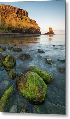 Talisker Beach Sunrise Metal Print by Davorin Mance