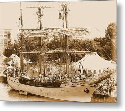 Tall Ship Series 6 Metal Print by Scott Hovind