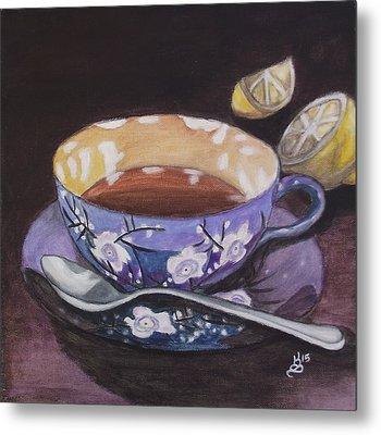 Tea Time Metal Print by Kim Selig