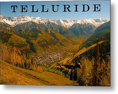 Telluride Colorado Metal Print by David Lee Thompson