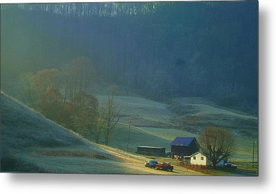 Tennessee Morning.. Metal Print by Al  Swasey