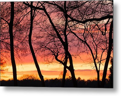 Tennessee Sunset Metal Print by Duane Miller