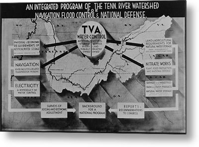 Tennessee Valley Authoritys Metal Print by Everett